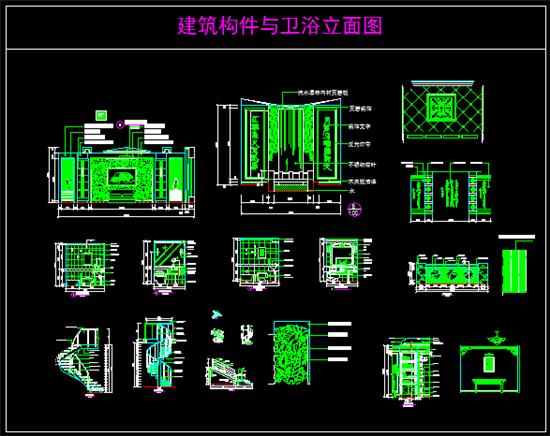 丨 插件分类 丨  cad常用图块,内含椅子,餐桌类,沙发,床铺立面图,沙发