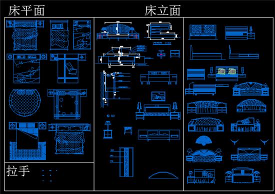 cad室內設計圖庫